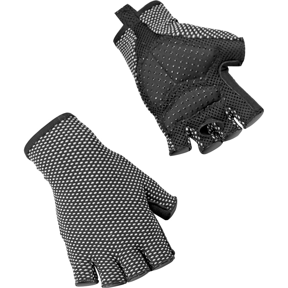 義大利 SIXS <br>機能碳 短指手套 GLC <br>BLACK
