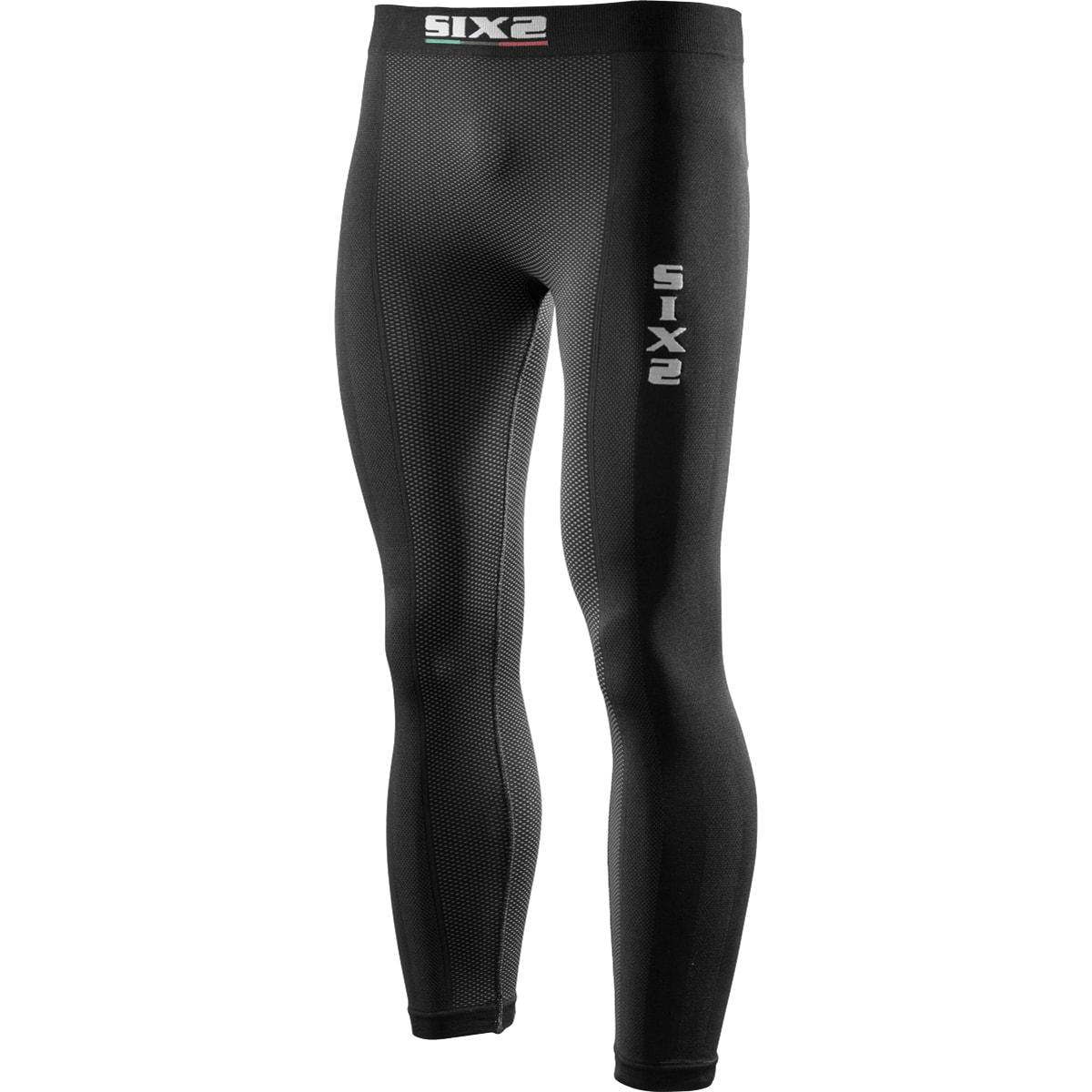 義大利 SIXS <br>機能碳運動長褲 <br>碳纖黑 <br>PNX BLACK