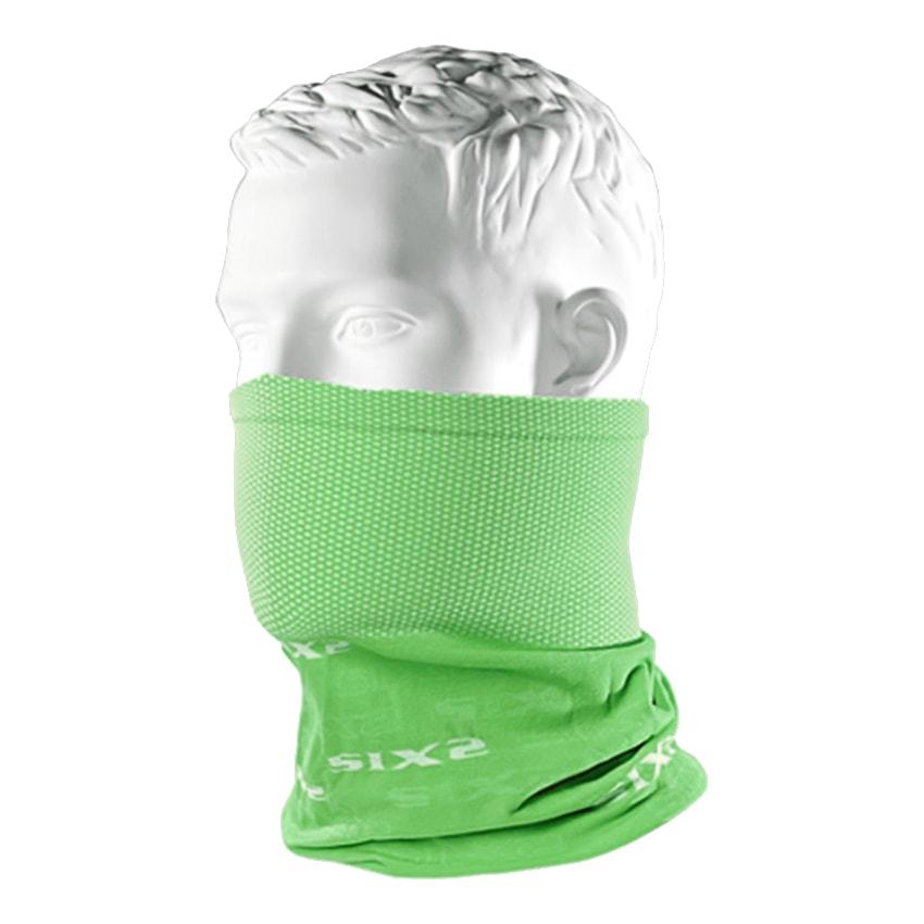 義大利 SIXS <br>機能碳頭頸巾 <br>綠色 <br>TBX GREEN