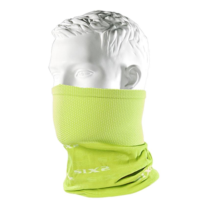 義大利 SIXS <br>機能碳頭頸巾 <br>黃色 <br>TBX YELLOW