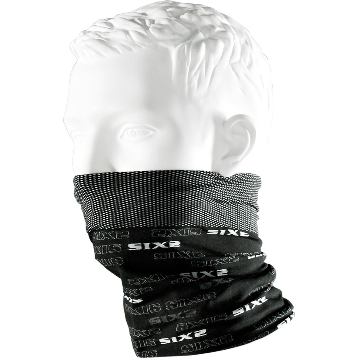 義大利 SIXS <br>機能碳頭頸巾 <br>碳纖黑 <br>TBX BLACK