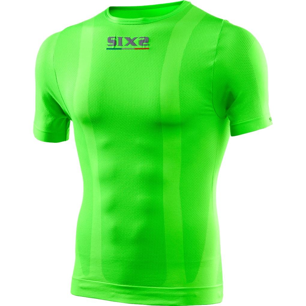 義大利 SIXS <br>TS1 COLOR <br>機能碳 短袖上衣 <br>GREEN