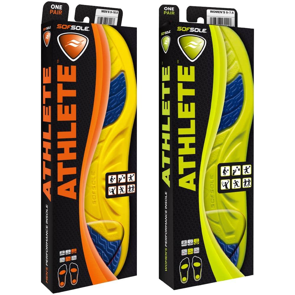 美國 SOFSOLE<br>ATHLETE 運動鞋墊<br>S5310