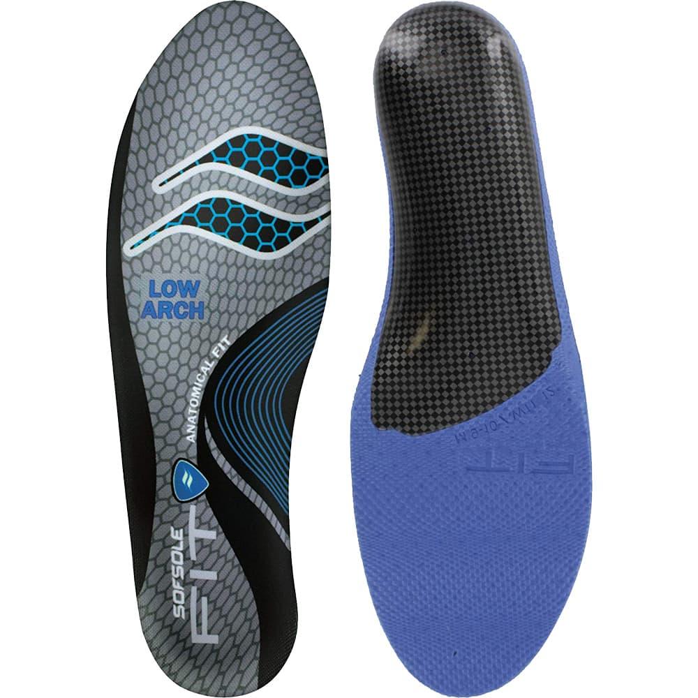 美國 SOFSOLE<br>FIT LOW ARCH<br>專利個人化記憶鞋墊<br>低足弓 S1335 北美版