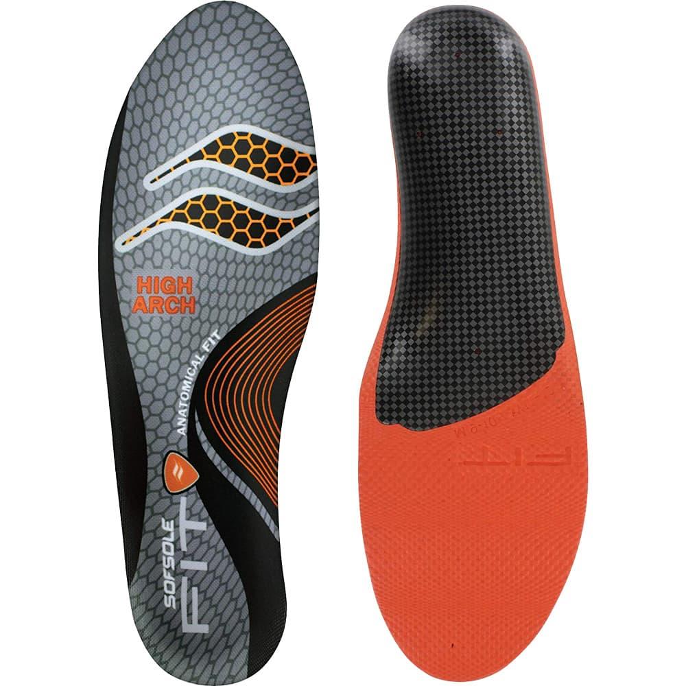 美國 SOFSOLE <br>FIT HIGH ARCH <br>專利個人化記憶鞋墊 <br>高足弓 S1337 北美版