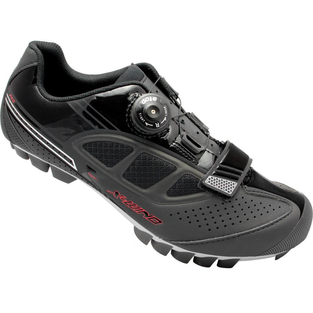 X-WIND <br>COMP MTB 登山車鞋 <br>BLACK