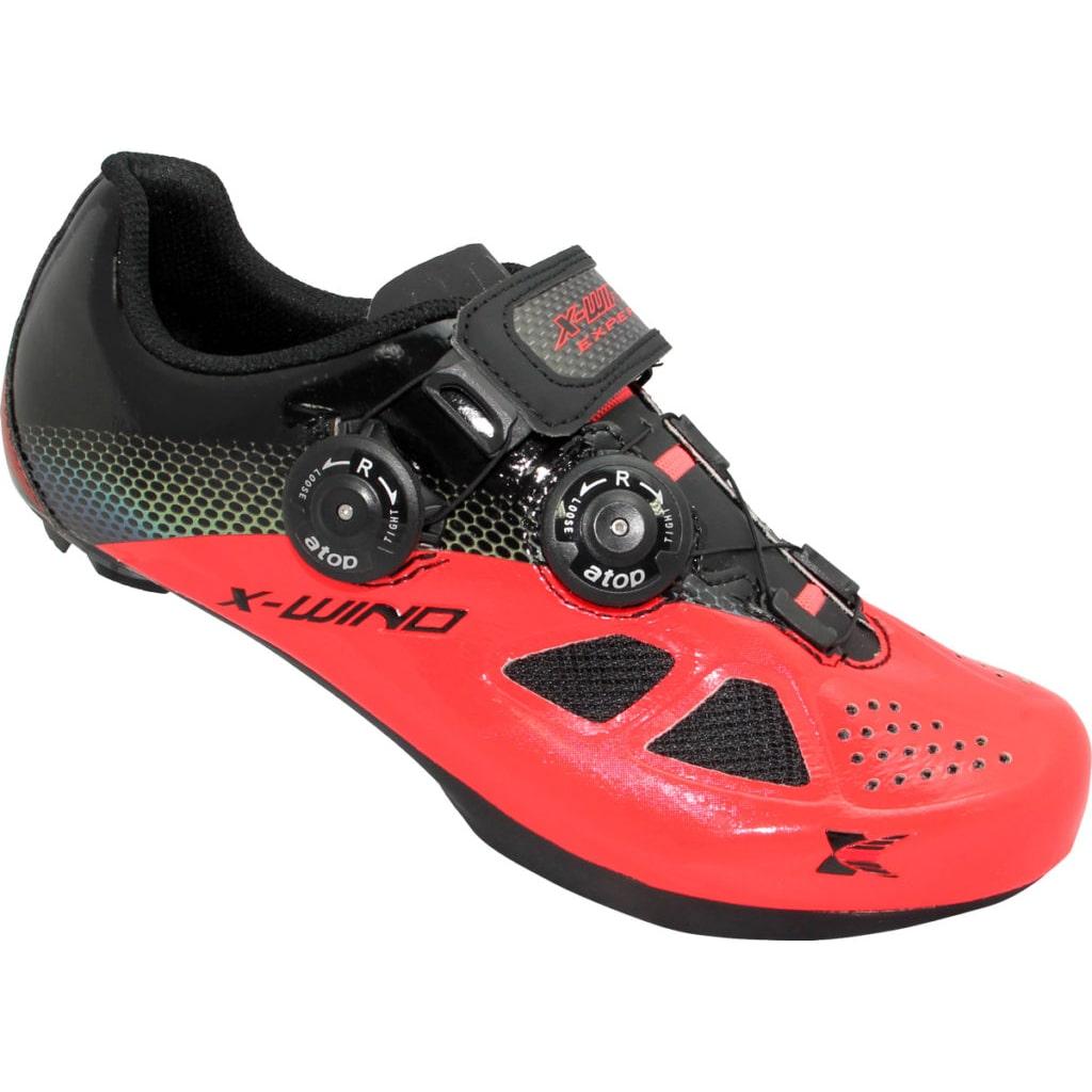 X-WIND <br>EXPERT 達人-專業自行車鞋 <br>CORAL BLACK