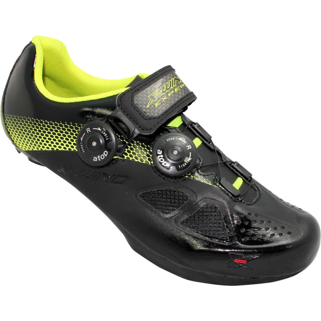 X-WIND <br>EXPERT 達人-專業自行車鞋 <br>BLACK YELLOW
