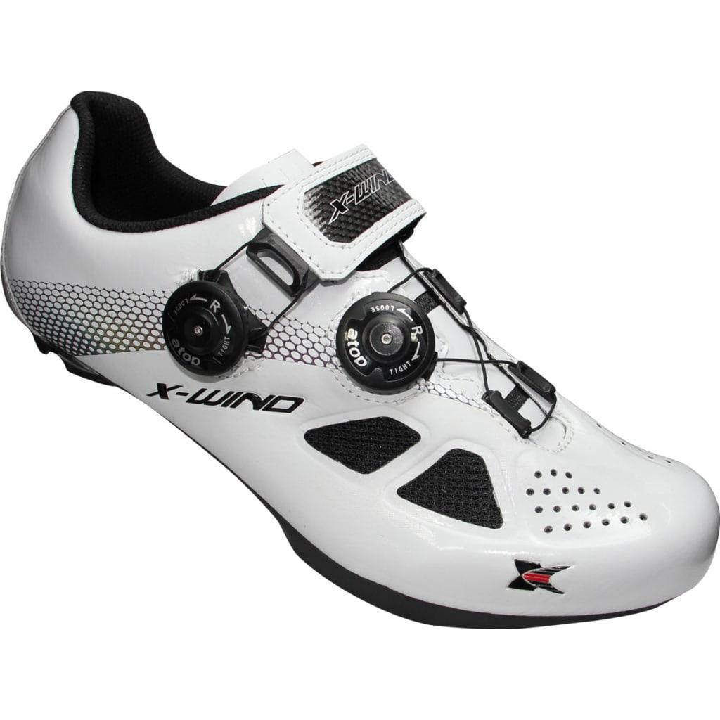 X-WIND <br>EXPERT 達人-專業自行車鞋 <br>White Black