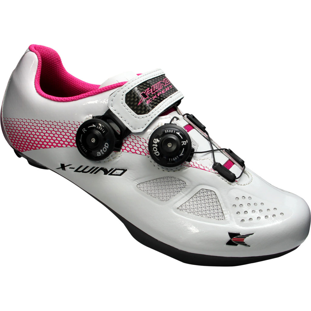 X-WIND <br>EXPERT 達人-專業自行車鞋 <br>WHITE PINK