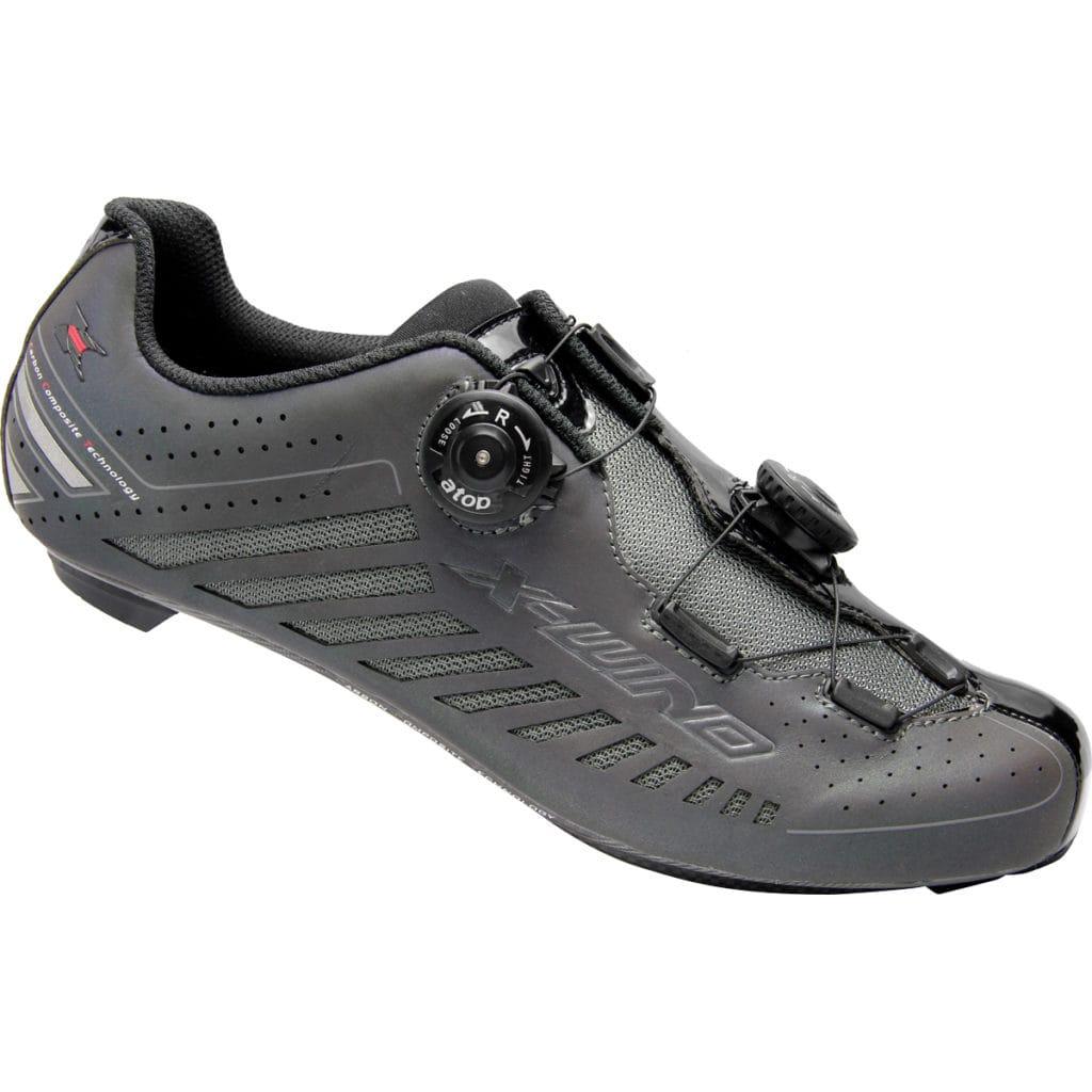 X-WIND <br>PHANTOM 珠光-專業公路車鞋 <br>Titanium BlACK